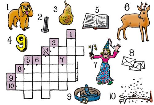Kinder Kreuzworträtsel Online